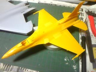 F-22A 双海亜美 仮組み