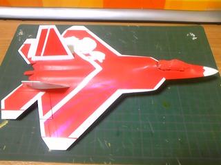 F-22A 塗装中
