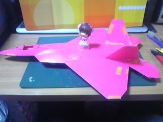 1/48 F-22 春香機 仮組み